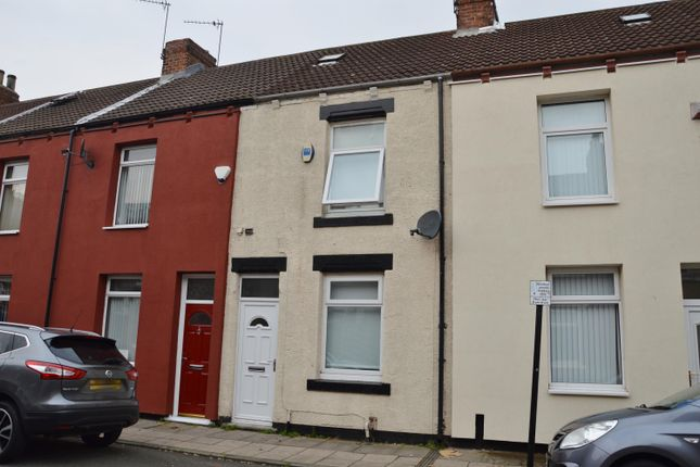Thumbnail Terraced house for sale in Percy Street, Middlesbrough