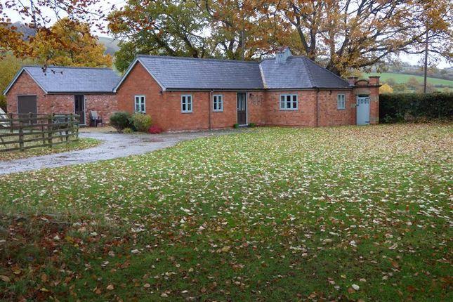 Thumbnail Detached bungalow to rent in Llanfechain