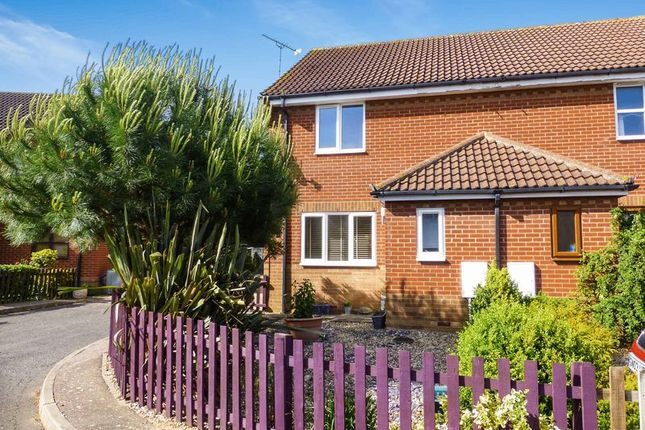 Thumbnail Semi-detached house for sale in Station Close, Martham, Great Yarmouth