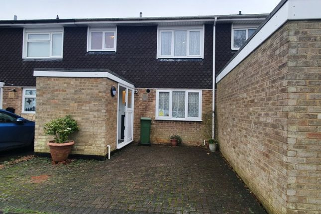 Thumbnail 3 bed terraced house to rent in Malletts Close, Stony Stratford, Milton Keynes
