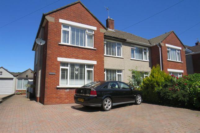 3 bed semi-detached house for sale in Heol Llanishen Fach, Rhiwbina, Cardiff CF14