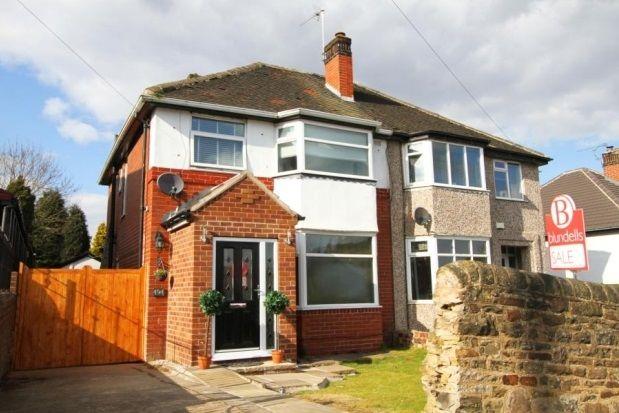 Thumbnail Semi-detached house to rent in Richmond Road, Richmond, Sheffield