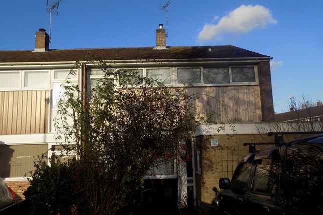 Thumbnail End terrace house to rent in Daniells, Welwyn Garden City
