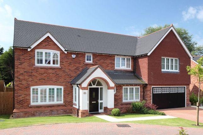"Thumbnail Detached house for sale in ""Farnham"" at Common Lane, Lach Dennis, Northwich"