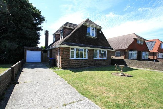 Thumbnail Detached bungalow for sale in Parklands Avenue, Goring-By-Sea, Worthing