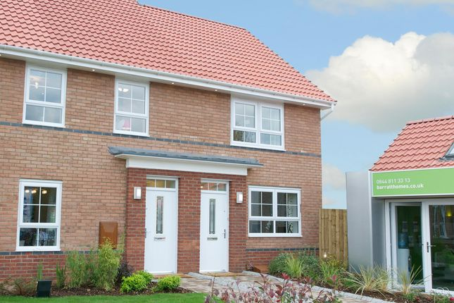 "Thumbnail Terraced house for sale in ""Kendal"" at Acacia Way, Edwalton, Nottingham"