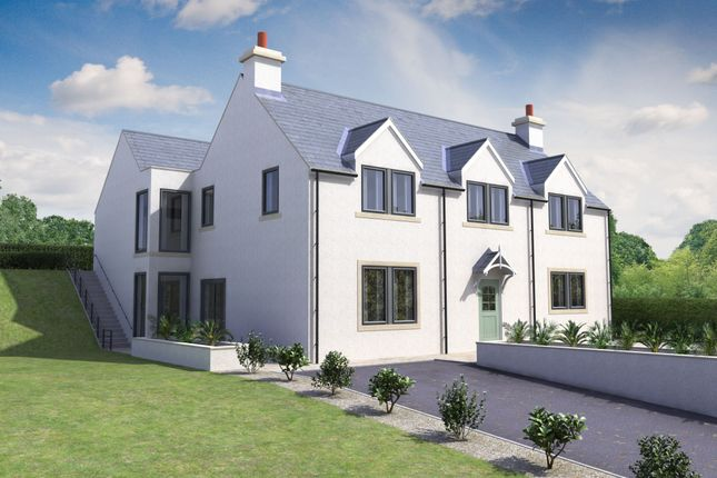 Thumbnail Detached house for sale in Gattonside, Melrose