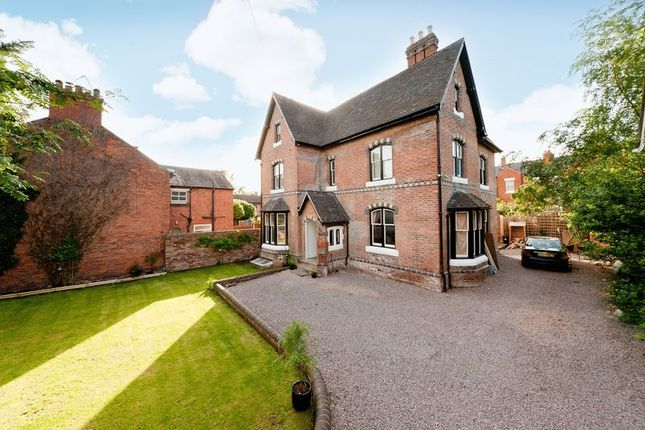 Thumbnail Detached house for sale in Longner Street, Shrewsbury