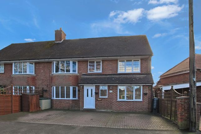 Thumbnail Semi-detached house for sale in Curzon Avenue, Hazlemere, High Wycombe