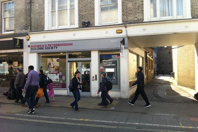 Thumbnail Retail premises to let in 4, St Andrews Street, Cambridge, Cambridgeshire