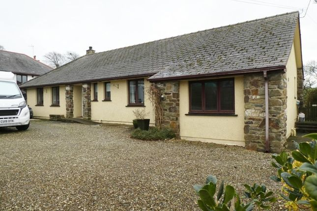Thumbnail Bungalow for sale in Llanarth, Ceredigion