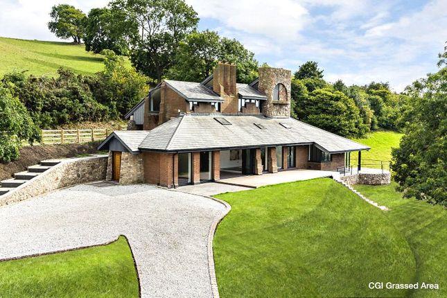 Thumbnail Detached house for sale in Llangwyfan, Denbigh, Denbighshire