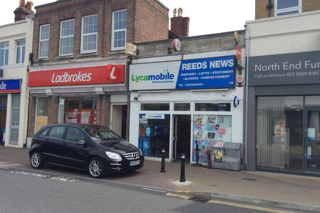 Thumbnail Retail premises for sale in London Road, Portsmouth