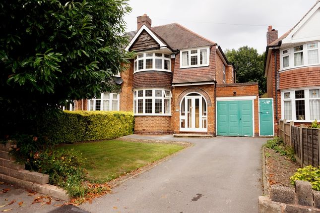 Thumbnail Semi-detached house to rent in Wood Lane, Handsworth Wood, Birmingham
