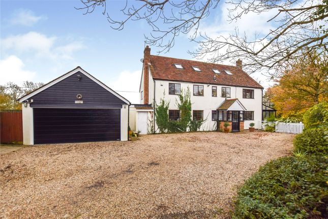 Thumbnail Detached house for sale in Fingrith Hall Lane, Blackmore, Ingatestone, Essex
