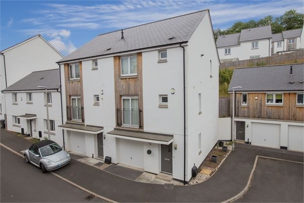 3 bed end terrace house for sale in Tamworth Close, Ogwell, Newton Abbot, Devon.