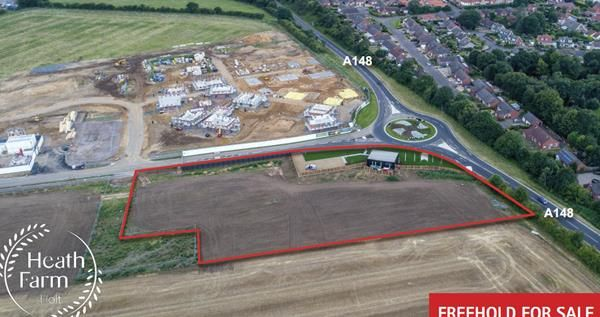 Thumbnail Land for sale in Heath Farm, Holt