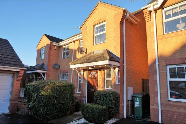 Thumbnail Semi-detached house for sale in Horseshoe Close, Cosby