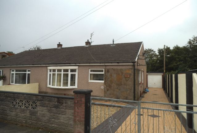 Thumbnail Bungalow for sale in Heol Adare, Tondu, Bridgend