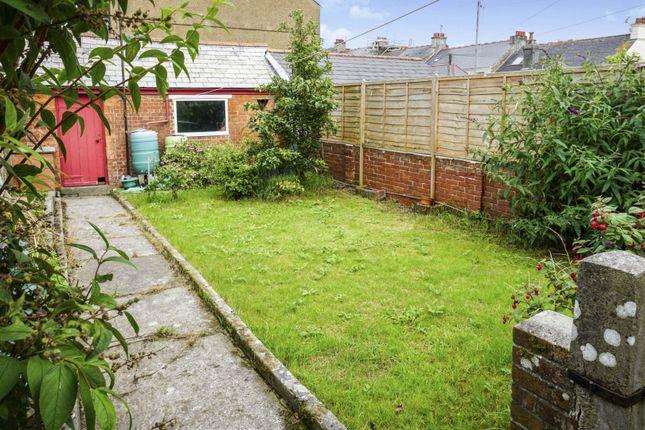 Rear Garden of Peverell Park Road, Plymouth PL3