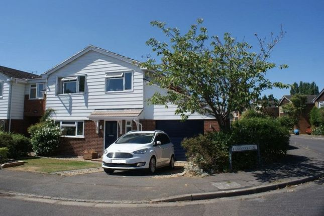 Thumbnail Detached house to rent in Quantock Close, Charvil, Reading
