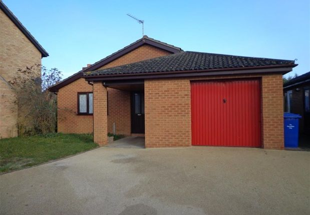 Thumbnail Detached bungalow for sale in De Havilland Court, Mildenhall, Bury St. Edmunds