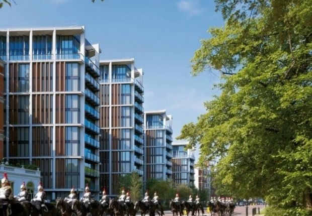 Thumbnail Flat to rent in Grosvenor Place, London