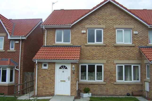 Thumbnail Semi-detached house to rent in Woodhorn Farm, Newbiggin By The Sea