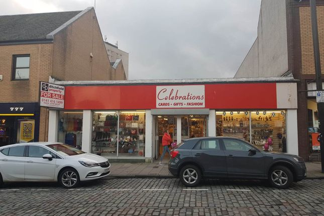 Thumbnail Retail premises for sale in West Blackhall Street, Greenock