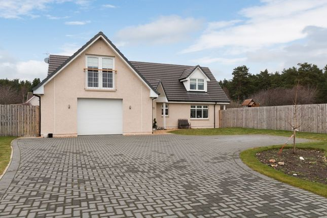 Thumbnail Detached house for sale in Blackstob Way, Kinloss, Forres