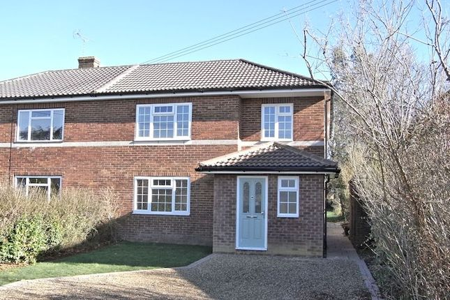 Thumbnail Semi-detached house for sale in Nightingale Crescent, West Horsley