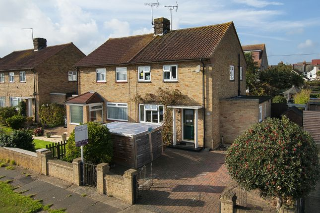 Thumbnail Semi-detached house for sale in Bullers Avenue, Herne Bay, Kent