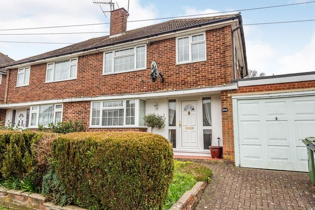 Thumbnail Semi-detached house for sale in Springfield Crescent, Harpenden