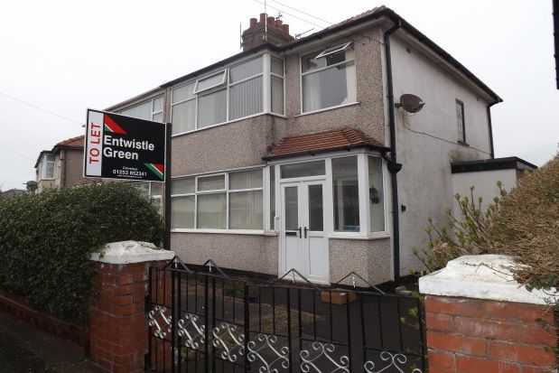 Thumbnail Semi-detached house to rent in Bleasdale Avenue, Thornton-Cleveleys