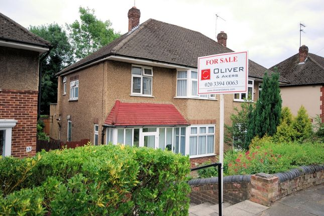 Thumbnail Semi-detached house for sale in Friary Close, Friern Barnet