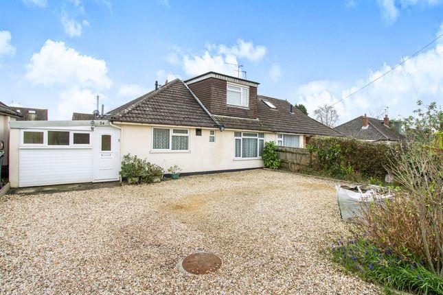 Thumbnail Semi-detached house for sale in Dales Drive, Wimborne