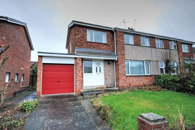 3 bed semi-detached house for sale in Leland Place, Morpeth
