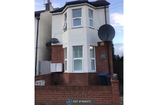 Thumbnail 1 bed flat to rent in Fortescue Road, London
