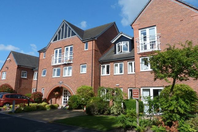 Thumbnail Flat for sale in Wright Court, Nantwich