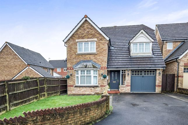 Thumbnail Detached house for sale in Heol Glynderwen, Waunceirch, Neath