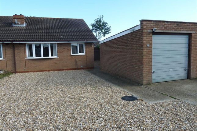 Thumbnail Semi-detached bungalow for sale in Eagle Close, Mablethorpe
