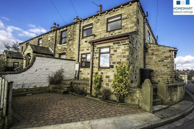 Thumbnail End terrace house for sale in Hare Park Lane, Liversedge, West Yorkshire.