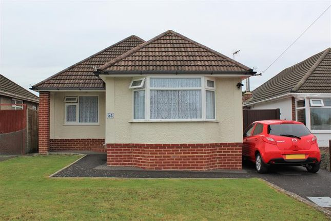 Thumbnail Detached bungalow for sale in Baker Road, Bear Cross, Bournemouth