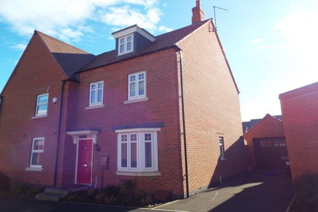 Thumbnail Semi-detached house to rent in Flora Grove, Ashby-De-La-Zouch