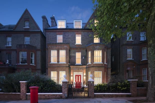 Thumbnail Detached house for sale in Netherhall Gardens, Hampstead, London