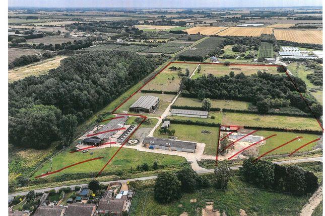 Thumbnail Land for sale in Meadowgate Lane, Wisbech