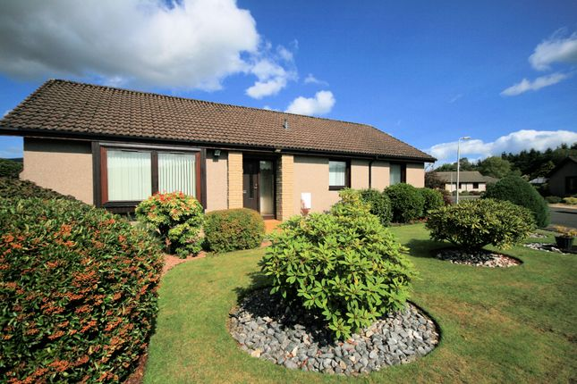 Thumbnail Bungalow for sale in Cowden Way, Comrie