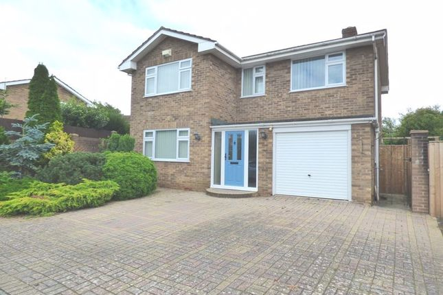 Thumbnail Detached house for sale in Aycote Close, Gloucester