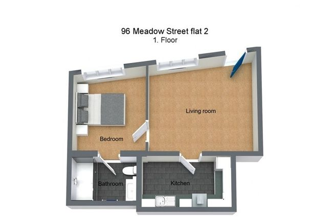 Thumbnail Flat for sale in Meadow Street, Weston-Super-Mare