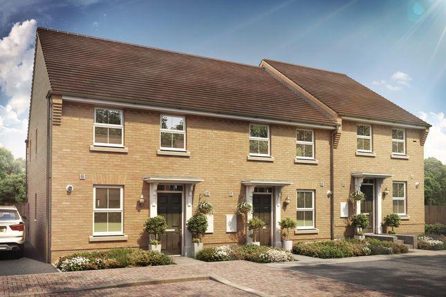 Thumbnail End terrace house for sale in Clipstone Park, Leighton Road, Leighton Buzzard